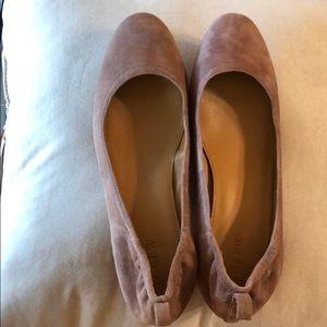 j. Crew suede shoes
